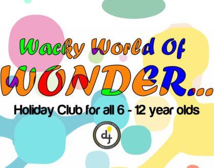 Wacky World Of Wonders Event Graphics