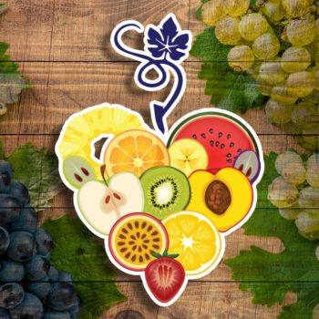 heart fruit square