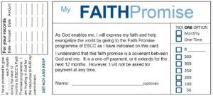 Faith promise image