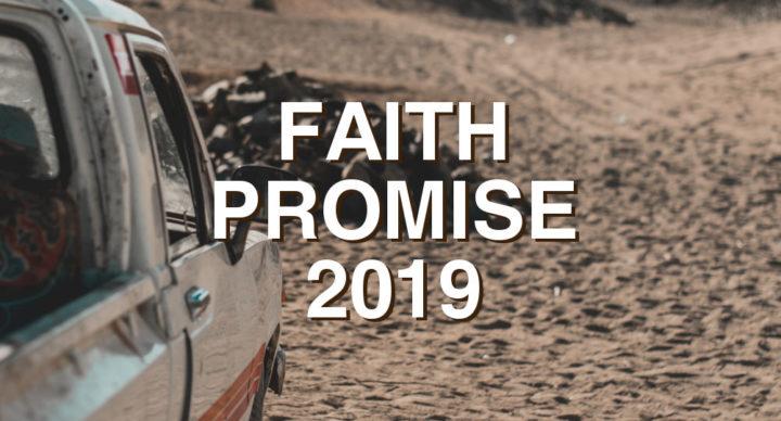 faith promise web event 2019